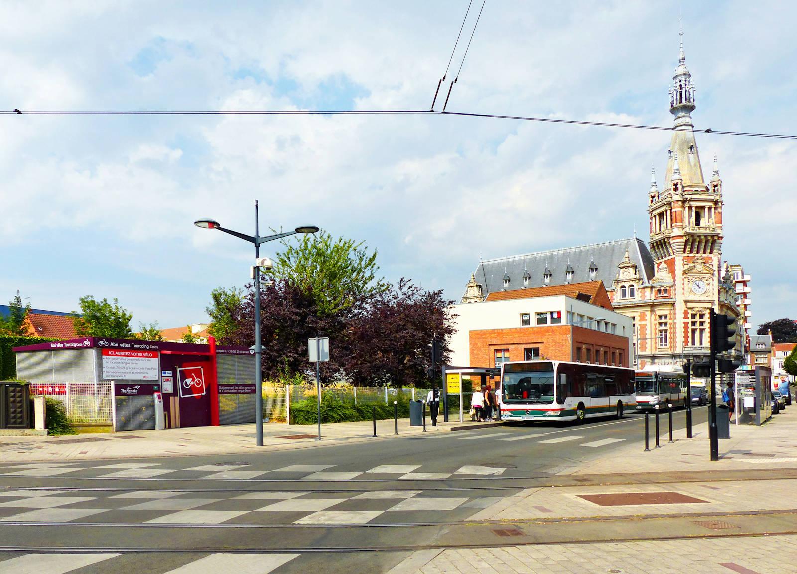 Abri Vélos Tourcoing Centre - V'Lille