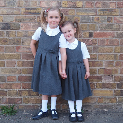 Marks and Spencer school uniform - pinafore dresses