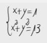 1.Sistema de ecuaciones de segundo grado (sustitución) 1