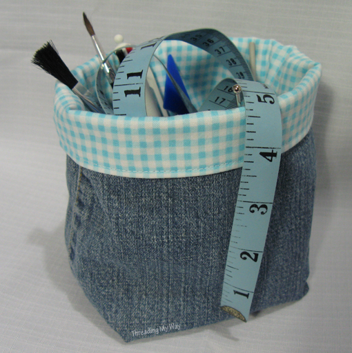 Sewing with Denim ~ Threading My Way