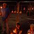 Υπό το φως των κεριών συγκέντρωση κατά του Φεστιβάλ κρέατος σκύλου...