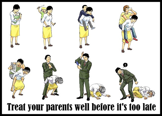 jadilah anak yang bertanggungjawab kepada ibu bapa