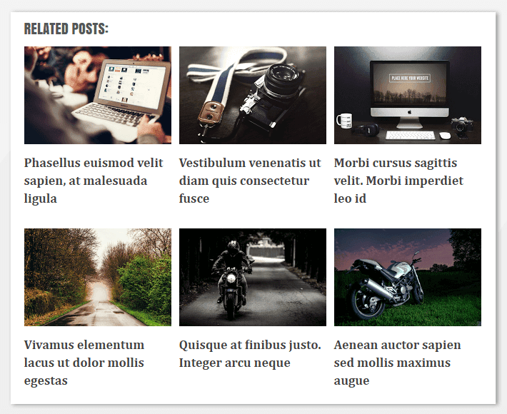 Template blogger dengan artikel terkait bergambar (Thumbnail)