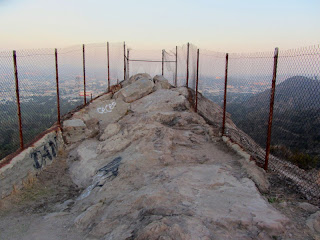 View east from Bee Rock, Griffith Park