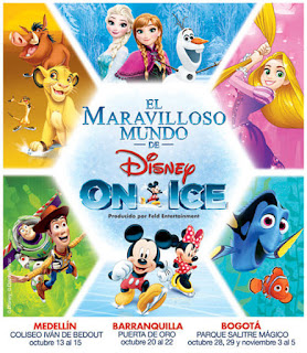 El Maravilloso Mundo de DISNEY ON ICE en colombia