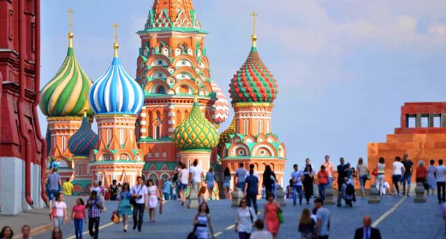 #Rusia2018: Las 5 ciudades donde los turistas gastaron más