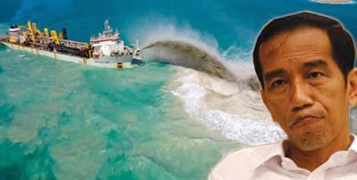 BPI : Jokowi Diam Luhut Lanjutkan Reklamasi, Siapakah Sebenarnya Presiden RI ?