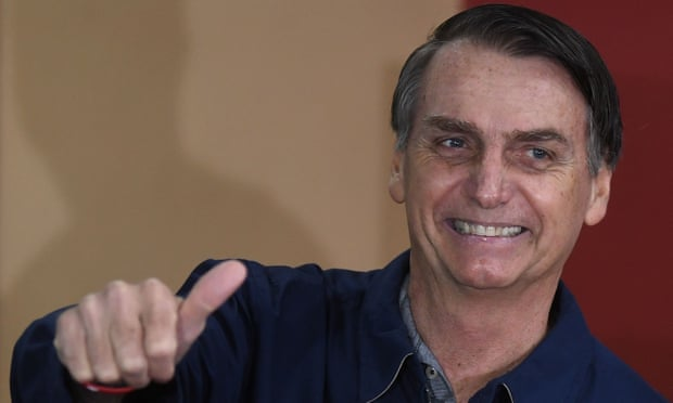 Brazil's Jair Bolsonaro threatens purge of leftwing 'outlaws