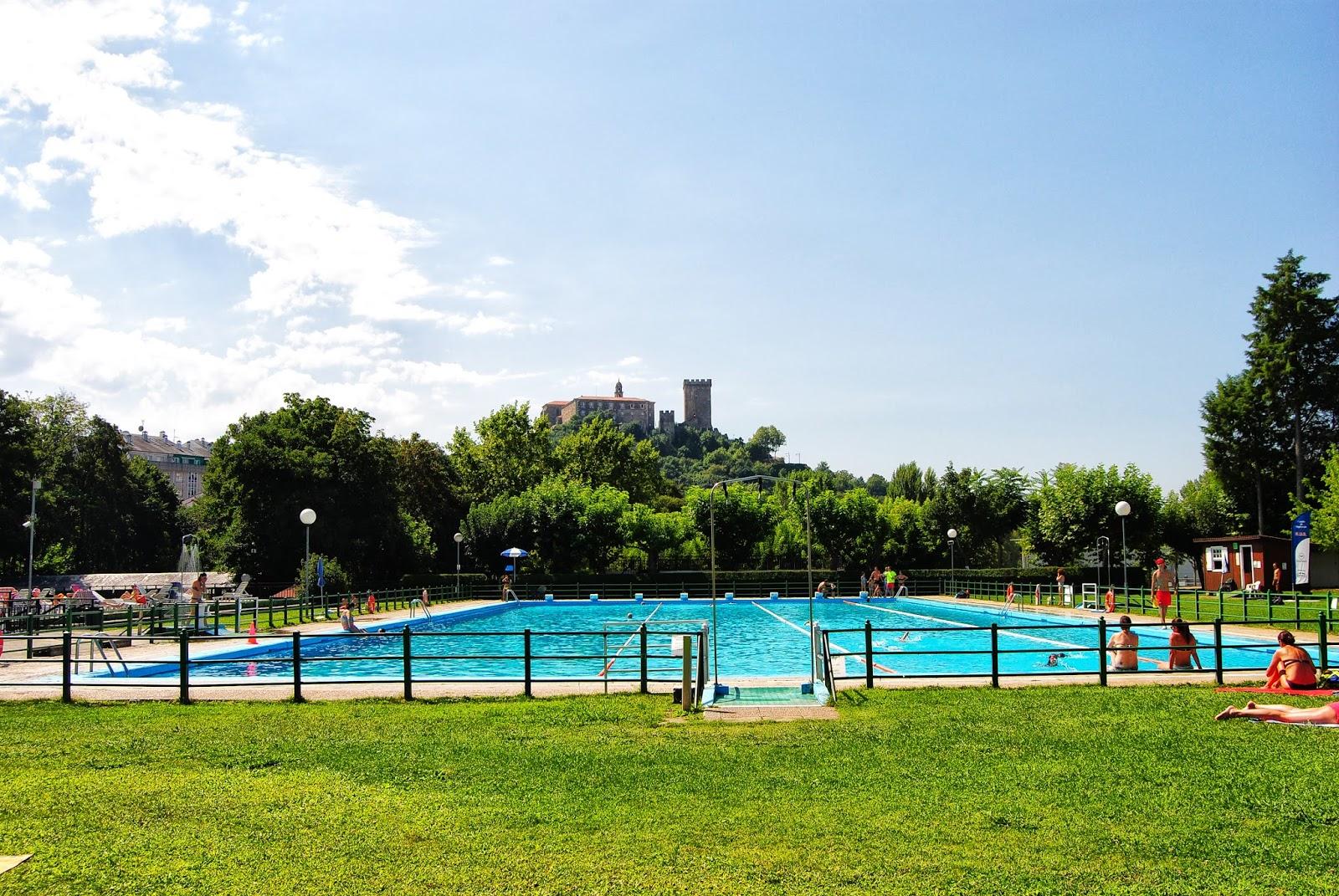 Club fluvial monforte de lemos lugo for Piscina monforte de lemos