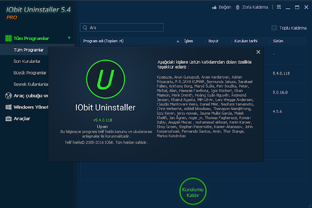 iobit uninstaller pro indir