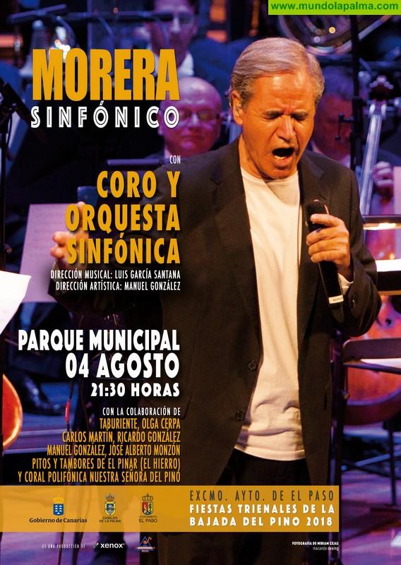 """Presentado el cartel del concierto """"Morera Sinfónico"""""""