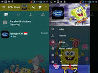 Update BBM Mod Animasi Spongebob 3.0.0.18 Apk Terbaru