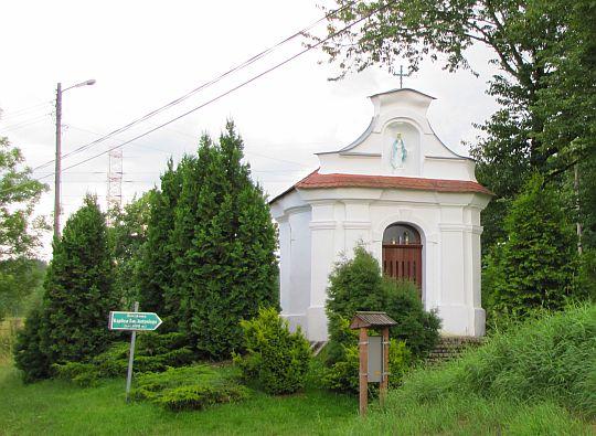 Barokowa kaplica św. Antoniego z połowy XVIII wieku.