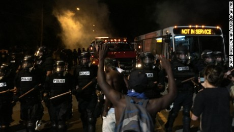 Protests Erupt in Charlotte After Police Kill a Black Man