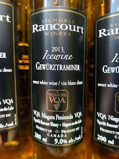 Rancourt Gewürztraminer Icewine 2013 (90+ pts)