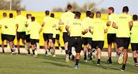 Η αποστολή των ποδοσφαιριστών της ΑΕΚ για το φιλικό του Σαββάτου με τον Ατρόμητο