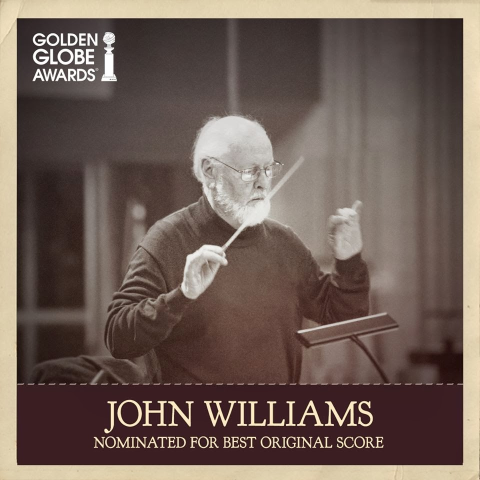 71st golden globe awards john williams nominated for best original score