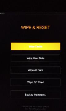 cara reset ulang hp Xiaomi semua tipe