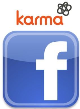 karma bought by facebook