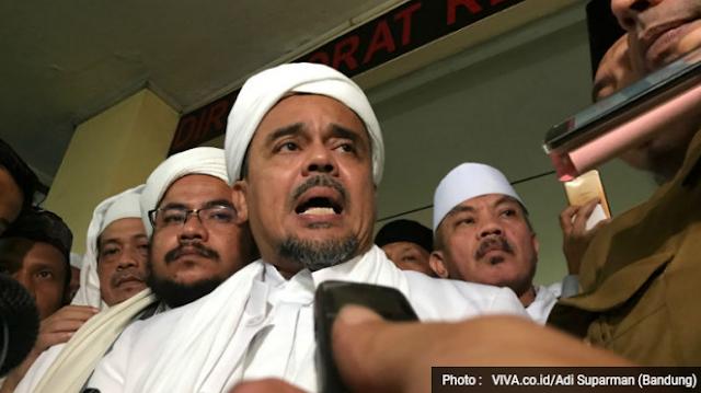 Mantap! Habib Rizieq Sudah Harga Mati Tak Akan Dukung Jokowi