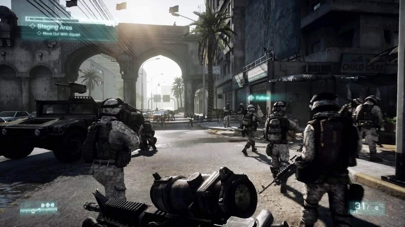 تحميل لعبة Battlefield 3 مضغوطة برابط واحد مباشر + تورنت كاملة مجانا