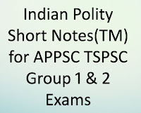 Short Notes, Bits in Telugu Medium for TSPSC Group 1 & Group 2 General Studies
