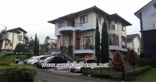 Villa Di desain buat Rombongan Di Lembang
