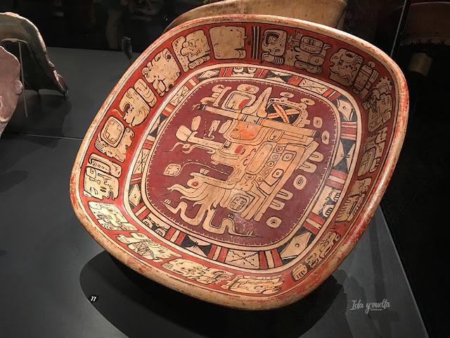 Plato de los Mayas en MARQ