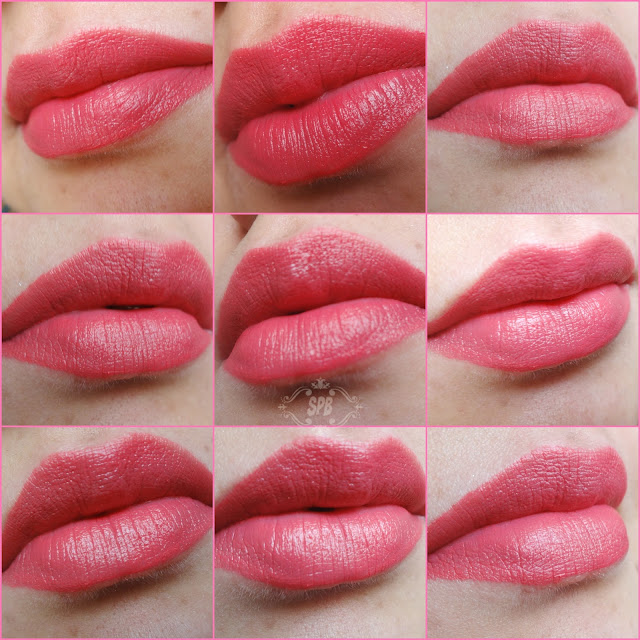 Lip swatches Ibiza
