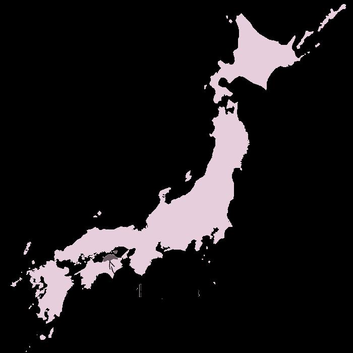 prefecture de kagawa carte japon