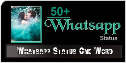 Whatsapp-Status-One-Word