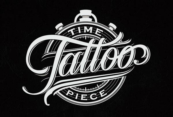 Trend Desain Logo Design 2015 - Hand Lettering Logo