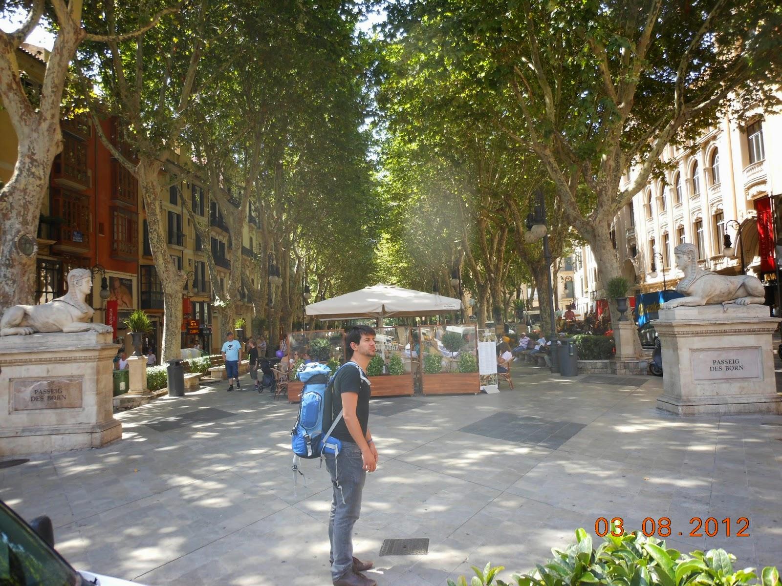 Paseig des Born - Palma de Maiorca - Espanhol