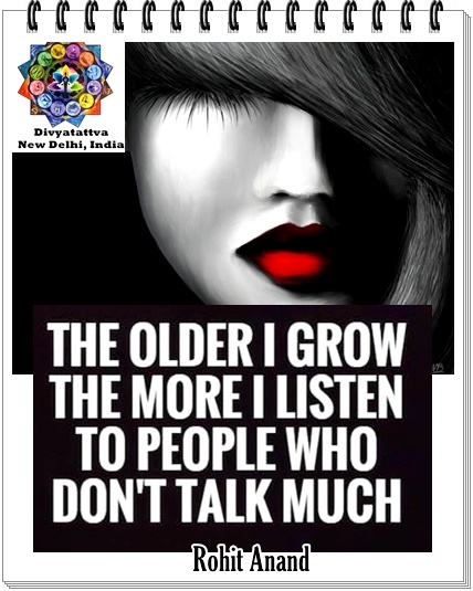 Older I Grow Listen To More People Who Dont Talk Much Photo Quotations