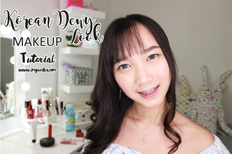 Korean Dewy Look Makeup