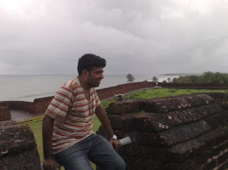 Thomas George at Bekal Fort