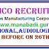 ALIMCO Recruitment 2017,ALIMCO Professional,Audiologist Posts Apply Before on 26th April