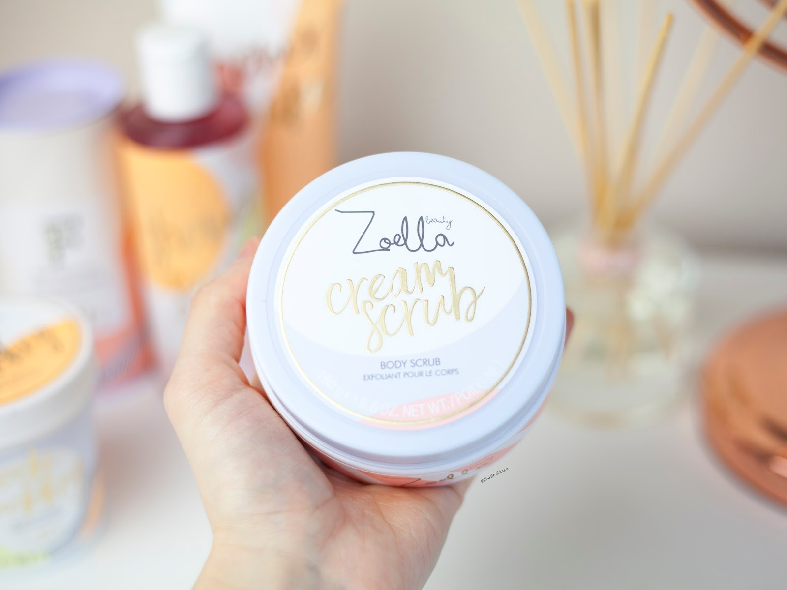 Zoella Jelly and Gelato Creamy Scrub