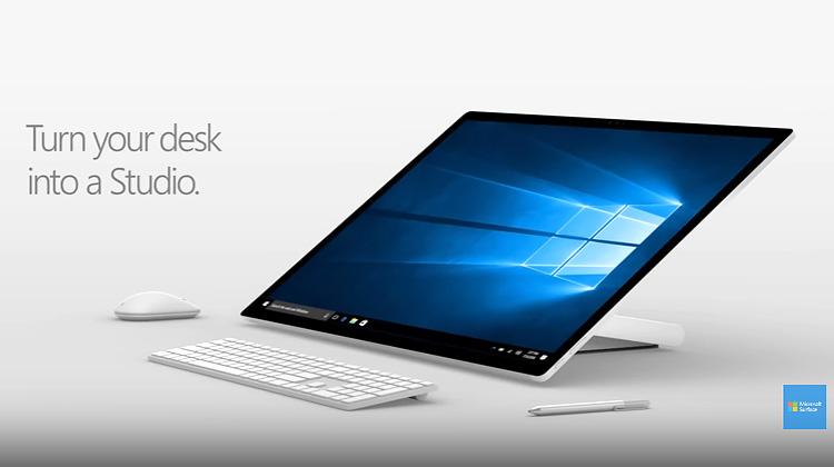 Microsoft update! All in one microsoft surface stuido