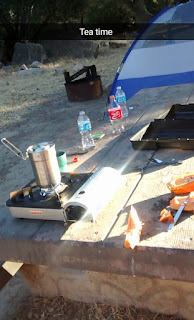 campsite, cooking camping, tent