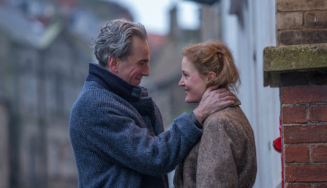 "Daniel Day-Lewis and Vicky Krieps in ""Phantom Thread"""