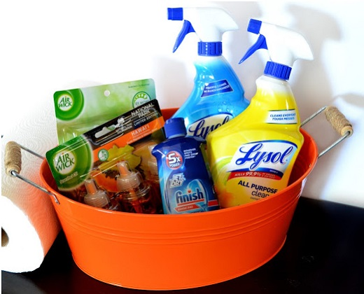 Target Helps Tackle Spring Cleaning with Lysol, Air Wick, Woolite, and Finish!