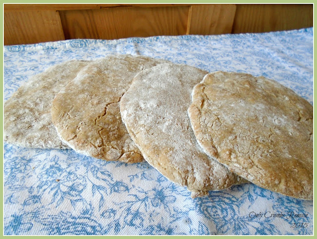 Homemade gluten free pitta breads