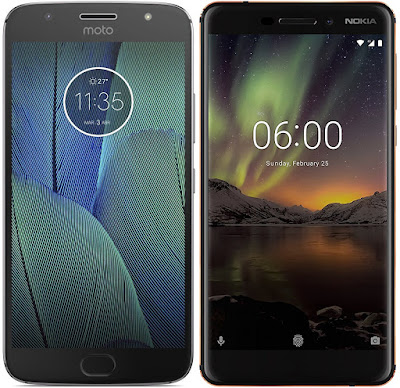 Motorola Moto G5s Plus (4 GB RAM) vs Nokia 6 (2018)