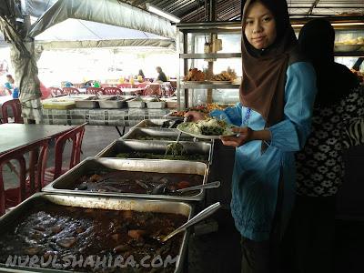 Masakan Kampung Sedap & Murah di Medan Selera Peladang Beranang