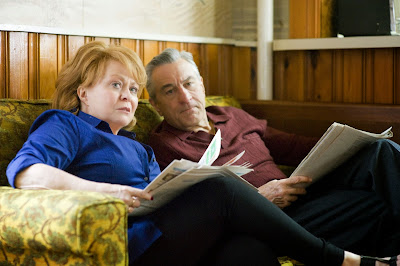 Robert De Niro and Jacki Weaver in Silver Linings Playbook, Pat's Parents, Directed by David O. Russell