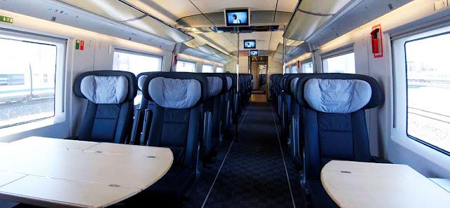 Comodidades del Tren AVE