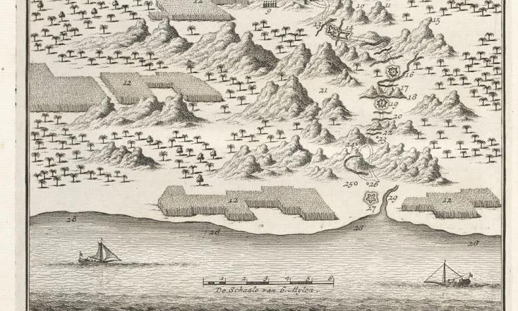Peta Kuno Semarang Kartasura (1724)