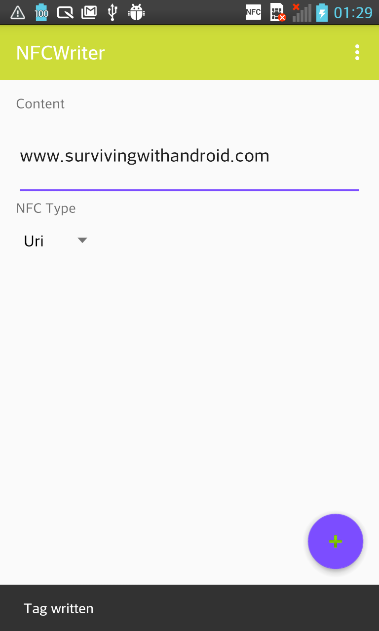 How to Write NFC Tags in Android - DZone Mobile