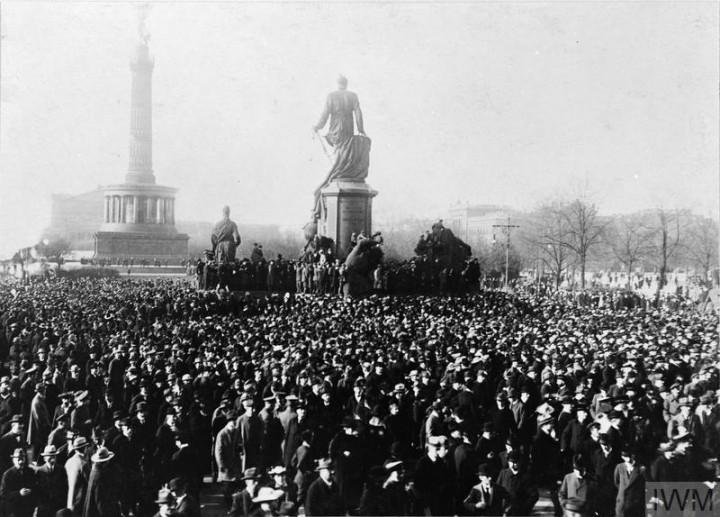 Mitingas Berlyne, 1918 m.